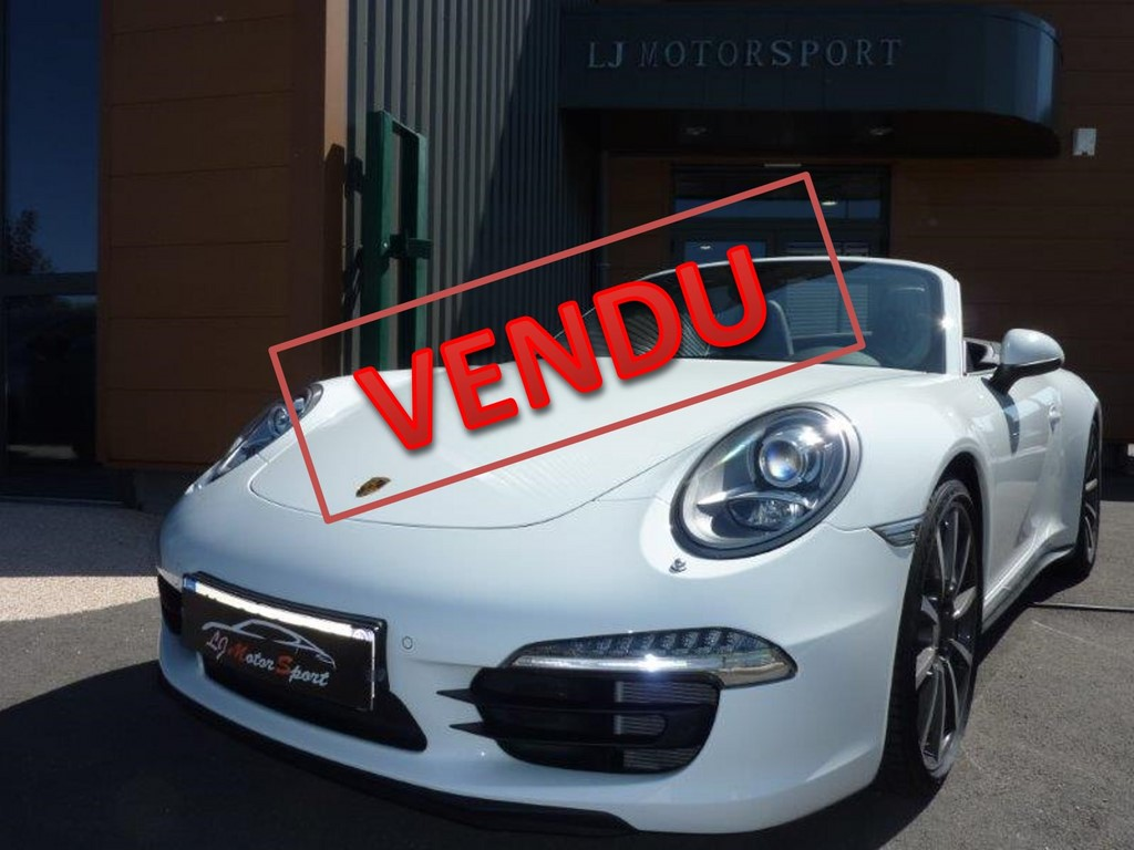 porsche 911 991 4s cab 400ch chassis 2014 17600 kms. Black Bedroom Furniture Sets. Home Design Ideas