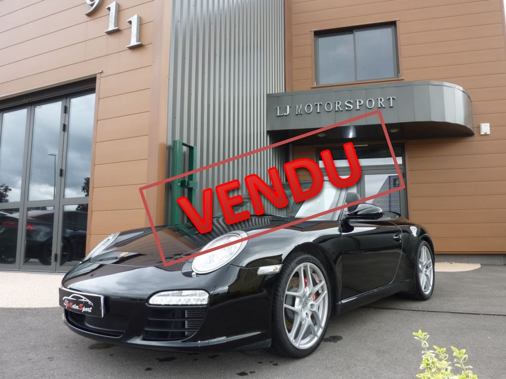 porsche 911 997 s cabriolet pdk 385ch chassis 2009 47600 kms. Black Bedroom Furniture Sets. Home Design Ideas
