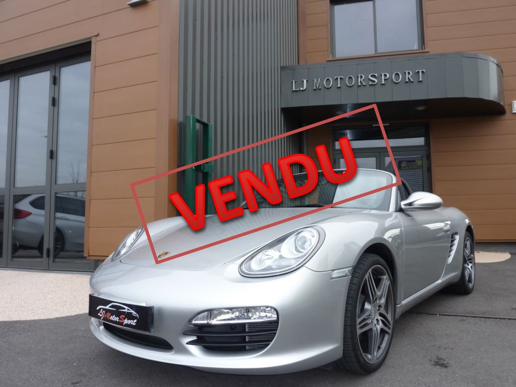 boxster s 310ch phase ii pdk 03 2010 46900 kms. Black Bedroom Furniture Sets. Home Design Ideas